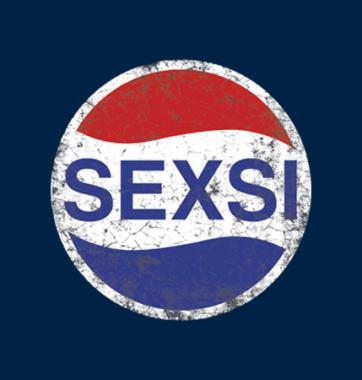 Футболка с принтом Sexsi