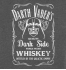 Футболка с принтом Darth Vader's Whiskey