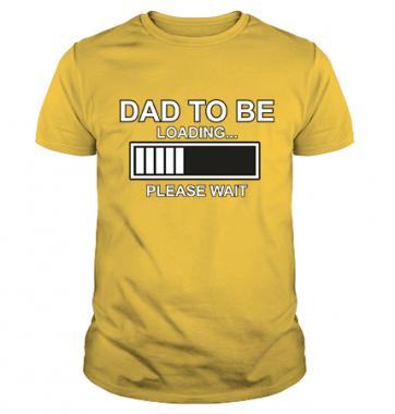 Футболка с принтом Dad to be