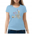 Женская футболка с принтом Slowly Slowly