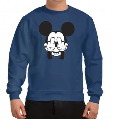Свитшот с принтом Микки Маус