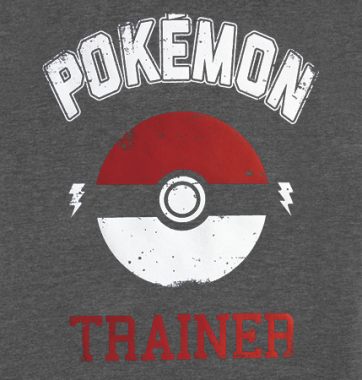 Футболка с принтом Pokemon Trainer