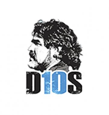 Футболка с принтом Диего Марадона