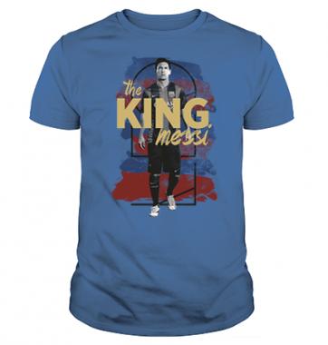 Футболка с принтом King Messi