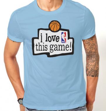 Футболка с принтом NBA