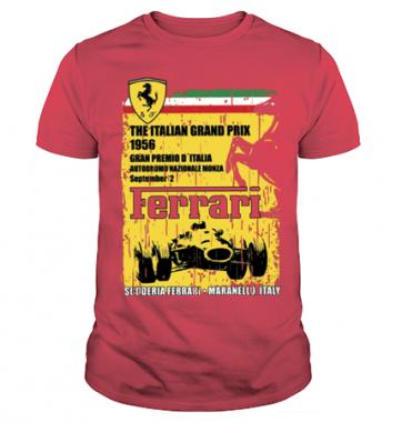 Футболка с принтом Ferrari