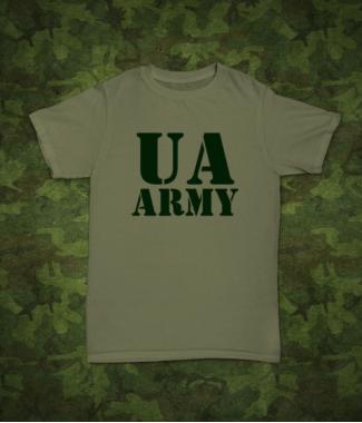 Футболка с принтом UA Army