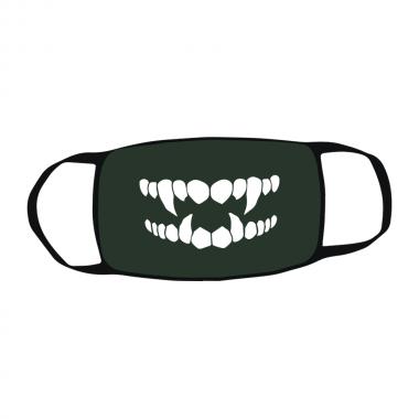 Маска c принтом Зубы