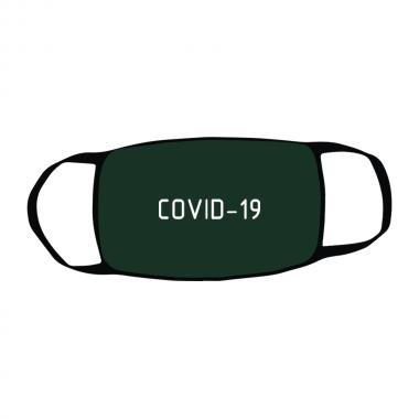 Маска c принтом Covid
