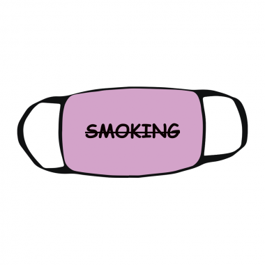 Маска c принтом Smoking