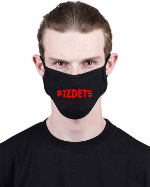 Маска c принтом Pizdets