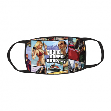 Маска c принтом Grand Theft Auto V