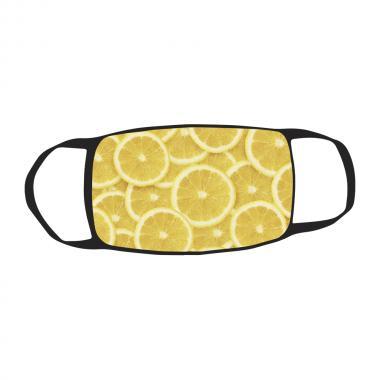 Маска c принтом Лимон