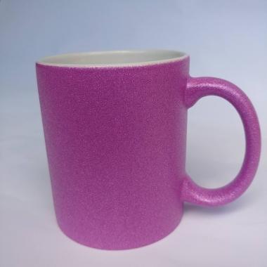 Чашка с глитером