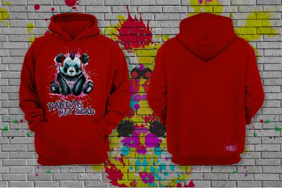 Худи с принтом Pandas SIDART