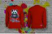 Свитшот  с принтом Pandas SIDART
